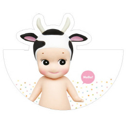 Sonny Angel Circle Card-Milkcow