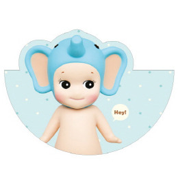 Sonny Angel Circle Card-Elephant