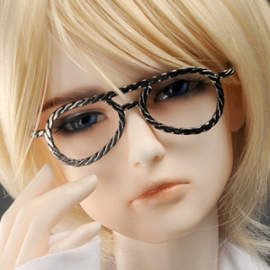 SD - Hera Lensless Glasses (Black Nickel)