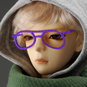 SD - Hera Lensless Glasses (Violet)