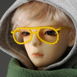 SD - Hera Lensless Glasses (Yellow)