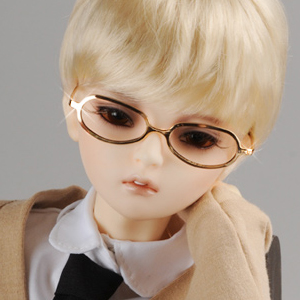 SD - Shape Steel Lensless Frames Glasses (Gold)