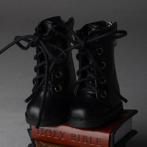 [52mm] USD.Dear Doll Size - Basic SL Boots - Long type (Black)