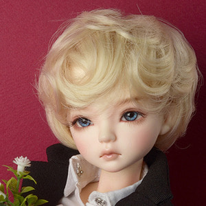 "[7-8""] Macaroon Short Cut Wig (Blond)"