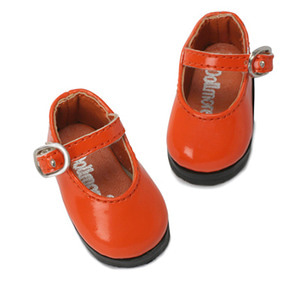 [48mm] USD.Dear Doll Size - Basic Girl Shoes (Orange Enamel) [K8]