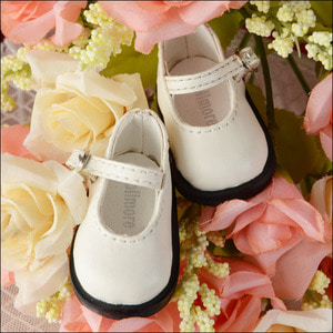 [52mm] USD.Dear Doll Size - Basic Girl Shoes (White) [K8]