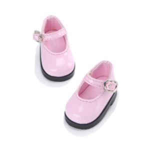 [50mm] USD.Dear Doll Size - Basic Girl Shoes (Pink Enamel) [K8]