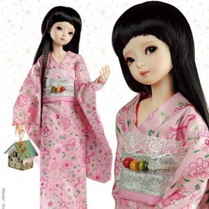 MSD Size Pattern - DO01 Dollmore's Creafts : Making The Goyeon Kimono Set