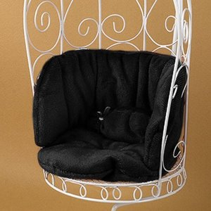 1/6 Scale Cushion For Bird Cage Style Iron Chair (쿠션 Black)[N1]