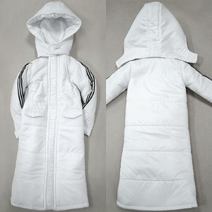 [MSD] (선주문) Schick Long Padded Jacket (White)