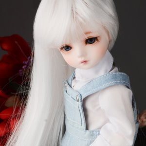"[6-7""] (선주문) Again Free Will Wig (White)"