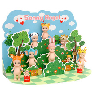 Sonny Angel Popup Card- Forest